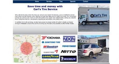 Brand Makeover-Carl's Tire Service