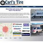 Carl's Tire Service Makeover